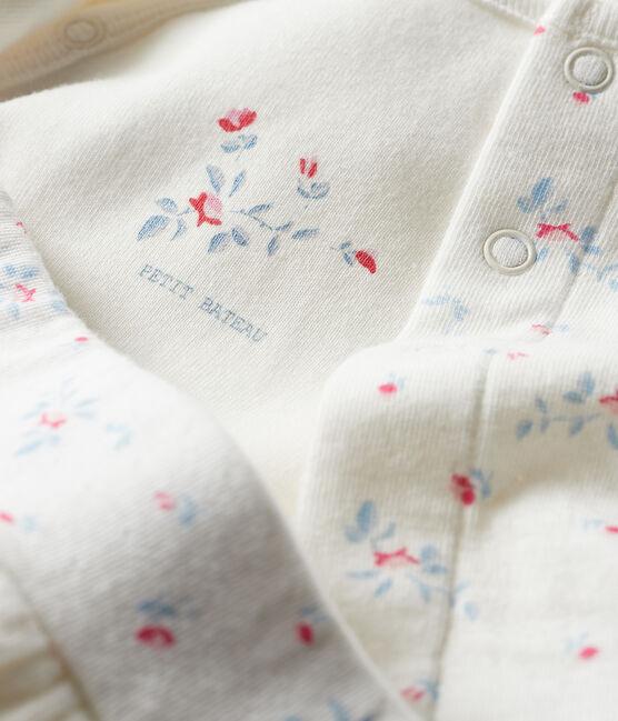 Set met 3 items van tubic voor baby's wit Marshmallow / wit Multico