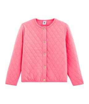 Cardigan meisjes roze Cupcake