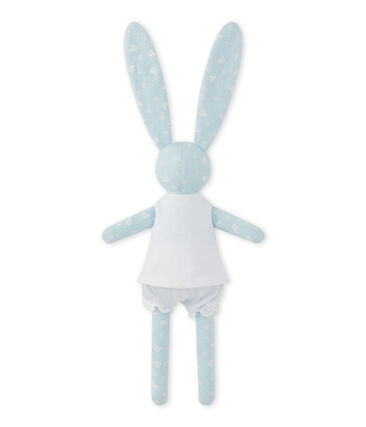 Bedrukte konijnenknuffel