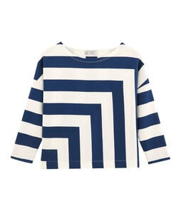 Dames marinetrui blauw Medieval / wit Marshmallow