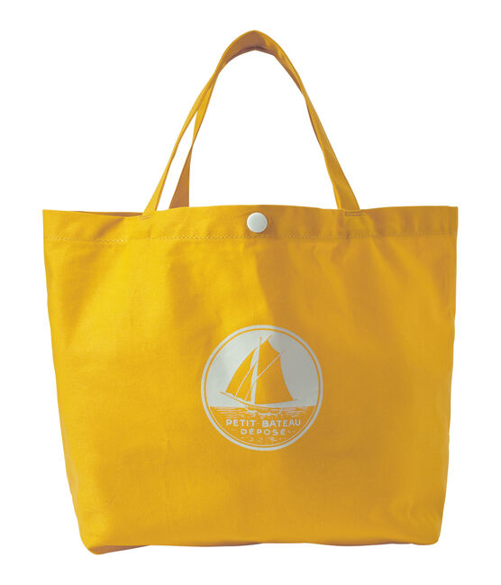 Tote bag fille en toile orange Fusion