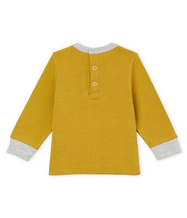 tee-shirtvoor babyjongens geel Inca