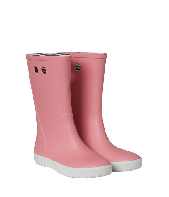 Regenlaarzen roze Cheek