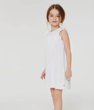Meisjesnachthemd in fijn katoen