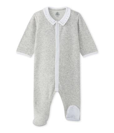 Dors-bien bébé mixte en velours