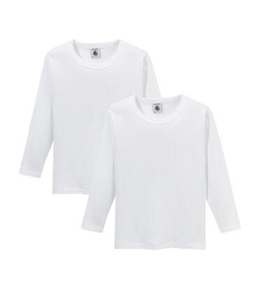 Set van 2 jongens-T-shirts met lange mouwen