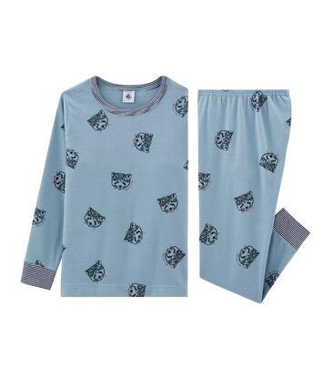 Jongenspyjama van gebreide stof