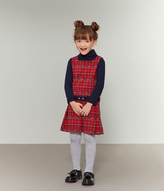 Robe sans manches enfant fille rouge Terkuit / blanc Multico