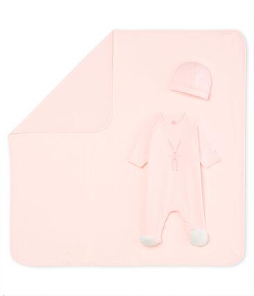Cadeaukoffer voor pasgeborene van gebreide stof