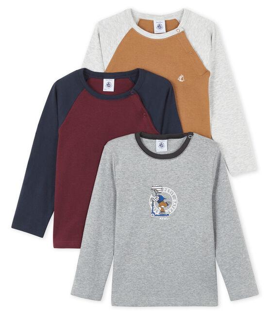 Lot surprise de 3 tee-shirts manches longues bébé garçon lot .