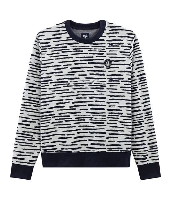 Sweat shirt Jean Jullien MARSHMALLOW/DASH
