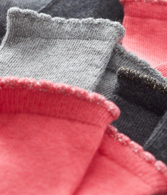Lot de 5 paires de chaussettes essentielles bébé fille lot .