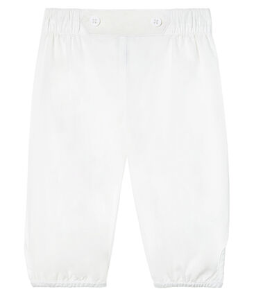 Pantalon bébé garçon de cérémonie en popeline