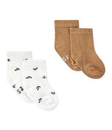 Set van twee paar sokken voor babyjongens set .