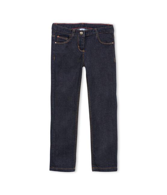 Pantalon denim enfant fille bleu Jean