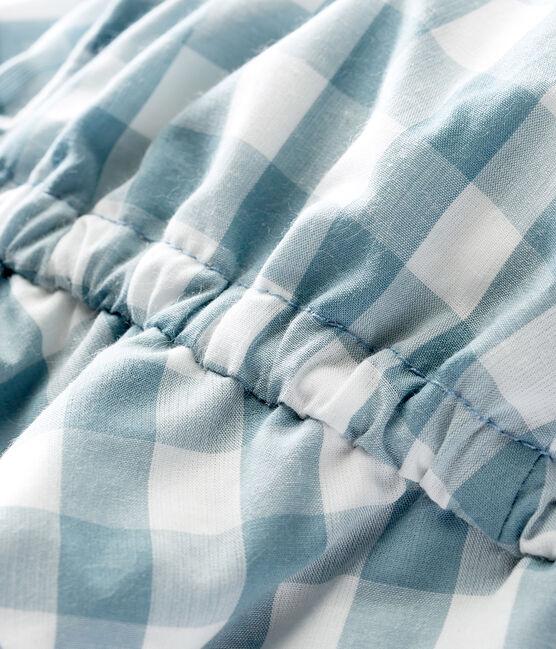 Uniseks babyhoed blauw Fontaine / wit Marshmallow