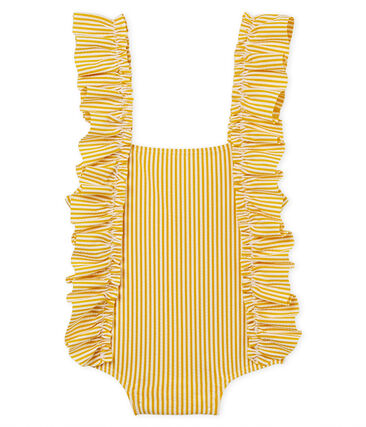 Gestreept badpak voor babymeisjes