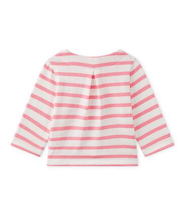 Gestreepte cardigan voor babymeisjes