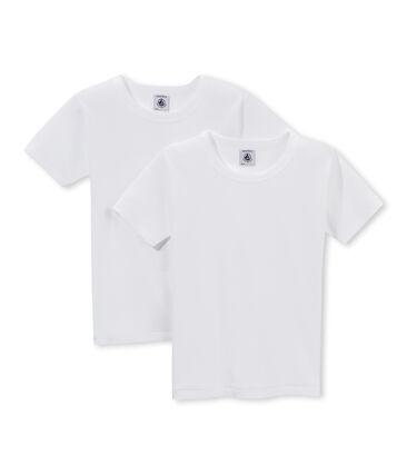 Set van 2 T-shirts korte mouwen jongens