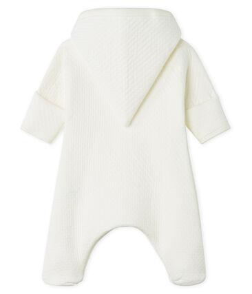 Lang babypakje van gewatteerde tubic wit Marshmallow