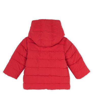 Doudoune bébé garçon en microfibre rouge Terkuit