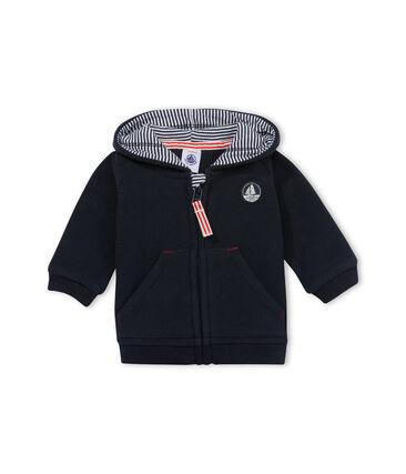 Hoodie met rits in fleece voor babyjongens