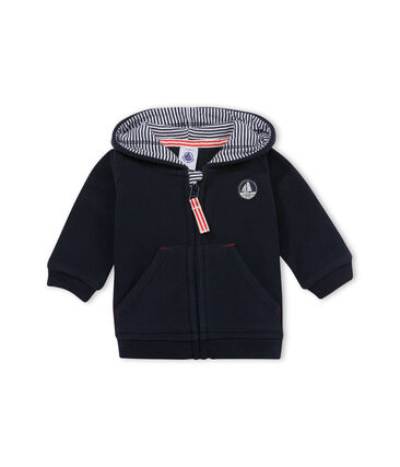 Sweatshirt zippé bébé garçon en polaire