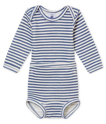 2-in-1 body met lange mouwen voor babyjongens