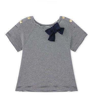 T-shirt bébé fille rayé