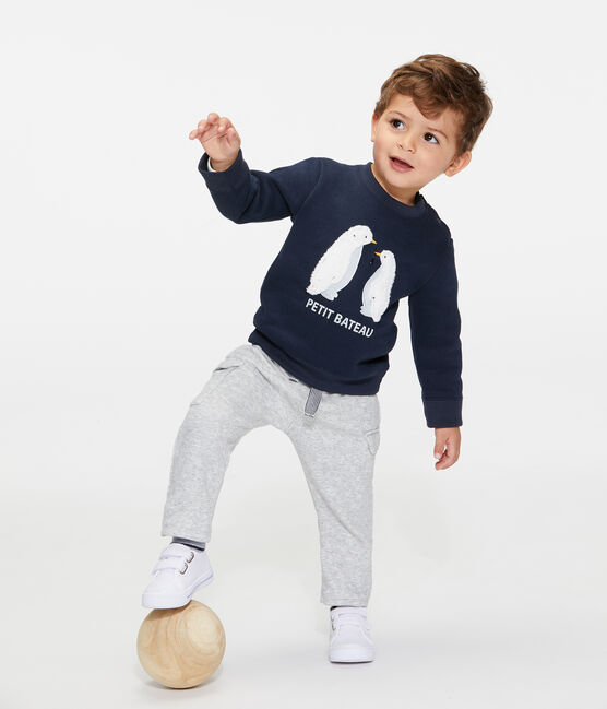 Sweatshirt van molton babyjongen SMOKING