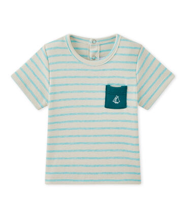 T-shirt bébé garçon manches courtes rayé