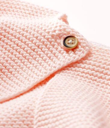 Cardigan bébé en tricot 100% coton