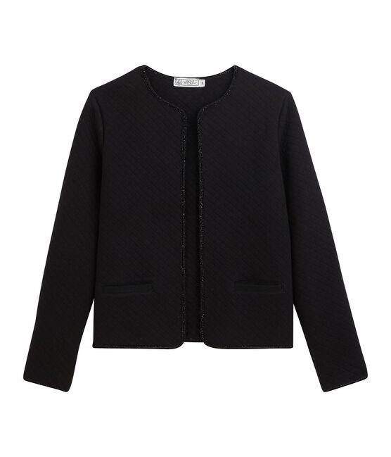 Cardigan jasje van tubic vrouwen zwart Noir / geel Dore