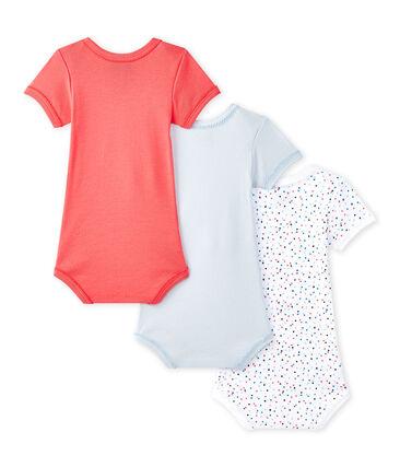 Set van 3 body's met korte mouwen voor babymeisjes