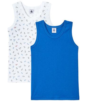 Set van 2 jongenshemdjes