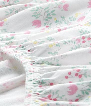 Hoeslaken voor babymeisjes (120 x 60 cm)