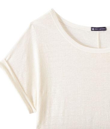 Vlot, linnen dames-T-shirt