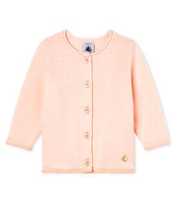 Cardigan babymeisje roze Fleur