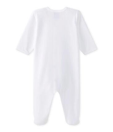 Uniseks pyjama wit Ecume