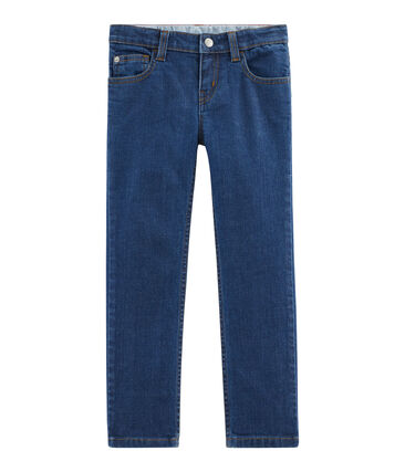 Denim jongensbroek blauw Denim Moyen