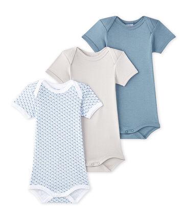 Lot de 3 bodies bébé garçon manches courtes
