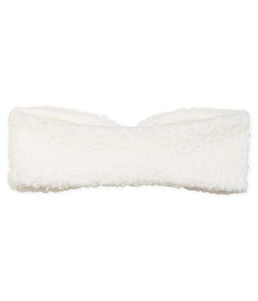 Bandeau bébé fille blanc Marshmallow