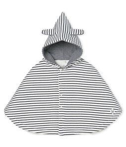 Iconische babycape van gewatteerde gebreide stof