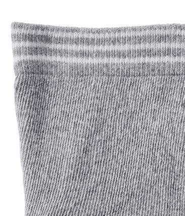 Kousenbroek in effen jersey voor babymeisjes