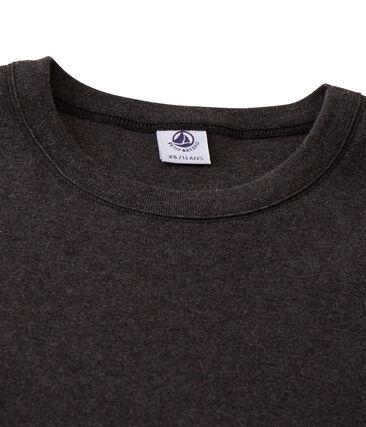 Iconisch T-shirt lange mouwen vrouwen grijs City Chine
