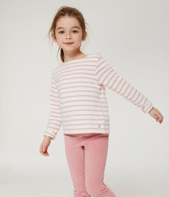 Marinetrui voor meisjes wit Marshmallow / roze Joli Brillant