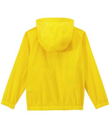 Windjack voor kinderen geel Jaune