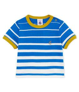 Gestreept t-shirt met korte mouwen voor babyjongens
