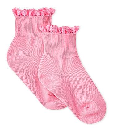 Chaussettes dentelle bébé fille