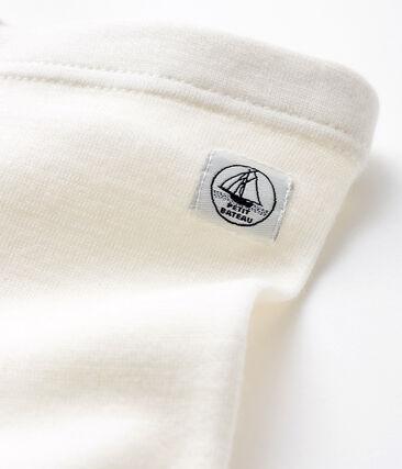 Baby ondergoed van wol en katoen wit Marshmallow